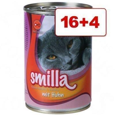 16 + 4 kaupan päälle! Smilla-pata 20 x 400 g - nauta