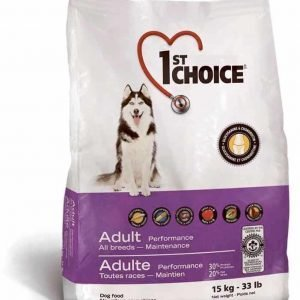 1st Choice Dog Performance All Breeds 15 Kg