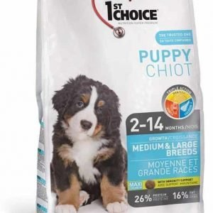 1st Choice Dog Puppy Medium & Large Breeds 15 Kg