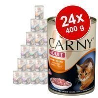 24 x 400 g Animonda Carny Adult -säästöpakkaus