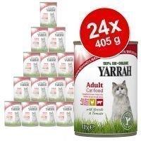 24 x 405 g Yarrah Chicken Chunks -säästöpakkaus - kana