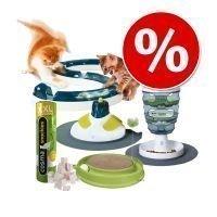 6-osainen lelu- ja herkkusetti kissoille - 6-osainen setti
