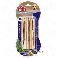 8in1 Delights Beef -purutikut - säästöpakkaus: 3 x 3 kpl (3 x 75 g)