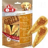 8in1 Delights Grills Chicken - 3 x 80 g