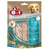 8in1 Delights Pro Dental Twisted Sticks - 35 kpl