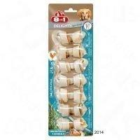 8in1 Delights Pro Dental -puruluut kanatäytteellä - XS: 21 x 12 g (252 g)