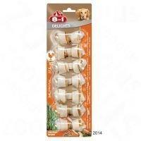 8in1 Delights -puruluut kanatäytteellä - S: 6 kpl (à 35 g)
