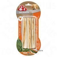 8in1 Delights -purutikut kanatäytteellä - 3 kpl (75 g)