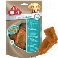 8in1 Fillets Pro Dental 80 g - säästöpakkaus: 3 x 80 g - S-koko