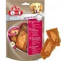 8in1 Fillets Pro Skin & Coat 80 g - säästöpakkaus: 3 x 80 g - S-koko