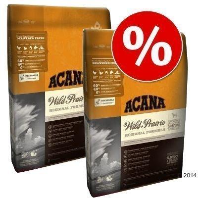 Acana-säästöpakkaus - 2 x 13 kg Wild Prairie