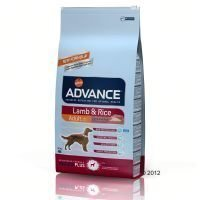 Advance Lamb & Rice - säästöpakkaus: 2 x 12 kg