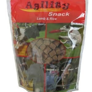Agility Snack Lamb & Rice 600 G