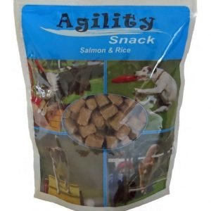 Agility Snack Salmon & Rice 600 G