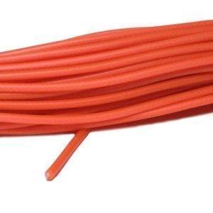Alac Muovitettu Jäljityshihna Oranssi 6 Mm 15 M