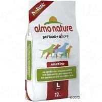 Almo Nature Adult Large Lamb & Rice - säästöpakkaus: 2 x 12 kg