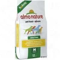 Almo Nature Adult Medium Chicken & Rice - säästöpakkaus: 2 x 12 kg