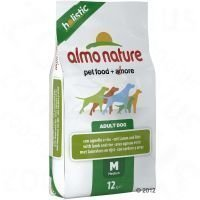 Almo Nature Adult Medium Lamb & Rice - säästöpakkaus: 2 x 12 kg