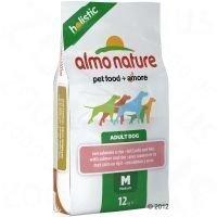 Almo Nature Adult Medium Salmon & Rice - säästöpakkaus: 2 x 12 kg