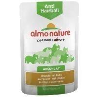 Almo Nature Anti Hairball Pouch 6 x 70 g - kana