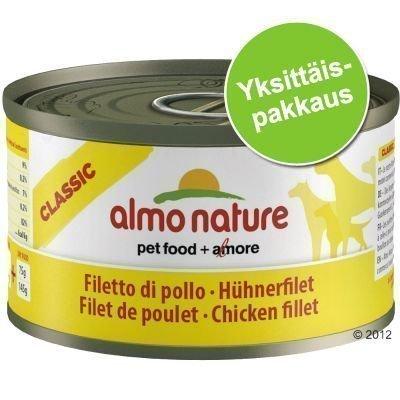 Almo Nature Classic 1 x 95 g - vasikka & kinkku