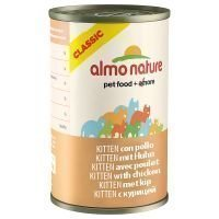Almo Nature Classic 6 x 140 g - kana & katkarapu