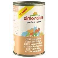 Almo Nature Classic 6 x 140 g - kana & kurpitsa