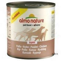 Almo Nature Classic 6 x 280 g / 290 g - nauta & kinkku (290 g)