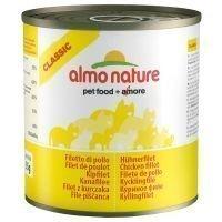 Almo Nature Classic 6 x 280 g - lohi & kurpitsa