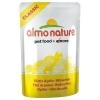 Almo Nature Classic 6 x 55 g - kana & sardellinpoikaset