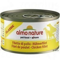 Almo Nature Classic 6 x 95 g - nauta & kinkku
