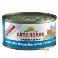 Almo Nature Classic & Legend 6 x 70 g - kana & kurpitsa