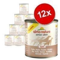 Almo Nature Classic -säästöpakkaus 12 x 280 g / 290 g - vasikka & kinkku (290 g)