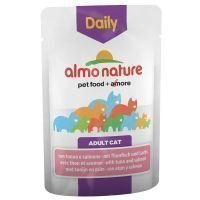 Almo Nature Daily Menu 6 x 70 g - kana & lohi