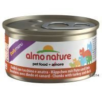 Almo Nature Daily Menu 6 x 85 g - lohimousse