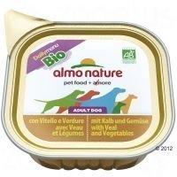 Almo Nature Daily Menu Bio 6 x 100 g - vasikanliha & vihannekset