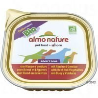 Almo Nature Daily Menu Bio 9 x 300 g - naudanliha & vihannekset
