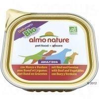 Almo Nature Daily Menu Bio 9 x 300 g - vasikanliha & vihannekset