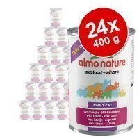 Almo Nature Daily Menu -säästöpakkaus 24 x 400 g - vasikka