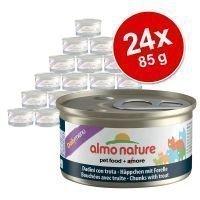 Almo Nature Daily Menu -säästöpakkaus 24 x 85 g - taimen
