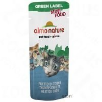 Almo Nature Green Label Mini Food - tonnikalafile (25 x 3 g)