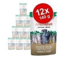 Almo Nature Green Label Natural Soup -säästöpakkaus 12x 140g - kanafile