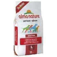 Almo Nature Holistic Adult Beef & Rice Large - säästöpakkaus: 2 x 12 kg