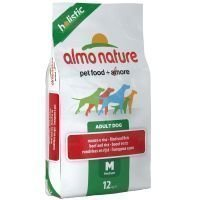 Almo Nature Holistic Adult Beef & Rice Medium - säästöpakkaus: 2 x 12 kg
