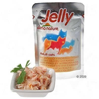 Almo Nature Jelly Pouch 6 x 70 g - kana