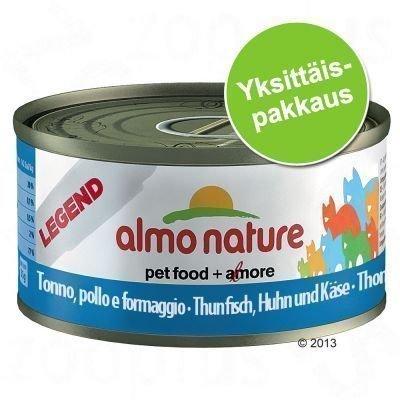 Almo Nature Legend 1 x 70 g - tonnikala & simpukka