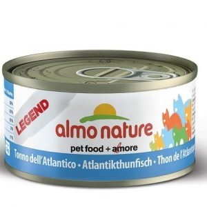 Almo Nature Legend Atlantin Tonnikala Märkäruoka Kissoille 70g