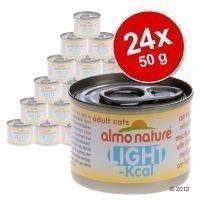 Almo Nature Light -säästöpakkaus 24 x 50 g - 2 makua