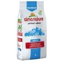 Almo Nature Sterilised Beef & Rice - säästöpakkaus: 2 x 2 kg