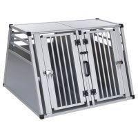 Aluline-tuplakuljetuslaatikko - L 97 x S 92 x K 68 cm (XL-koko)